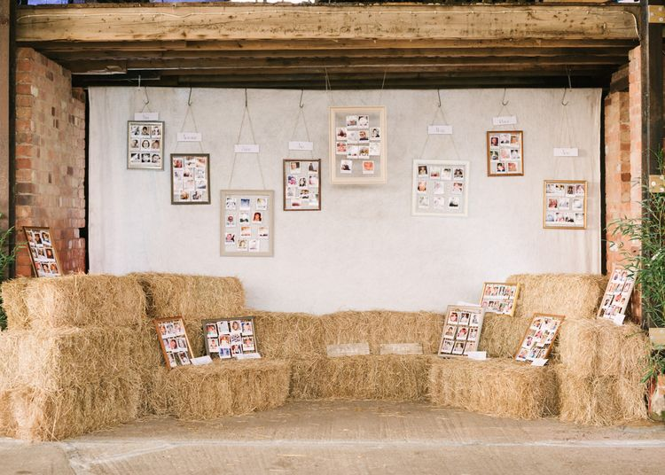 Hay Bale & Baby Pictures Table Plan