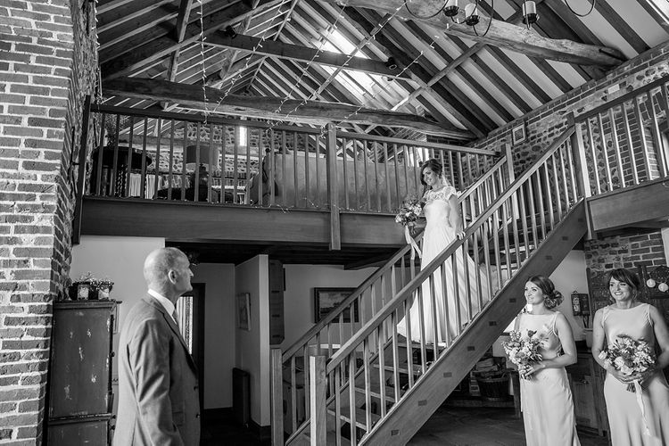 Bridal Entrance in Raimon Bundo Infanta Wedding Dress