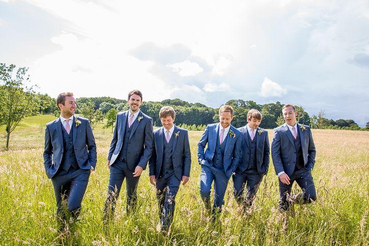 Groomsmen in Nay Suits