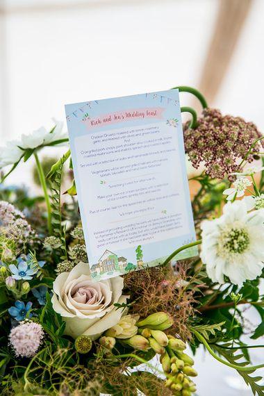 Pastel Wedding Stationery