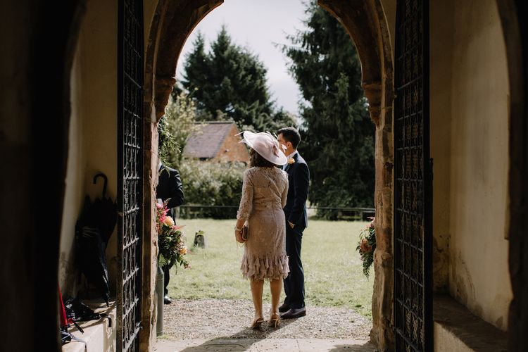 Mother of The Bride | Rural Wedding in a Sailcloth Tent on Stanford Hall Estate, Northamptonshire | Rebecca Goddard Photography