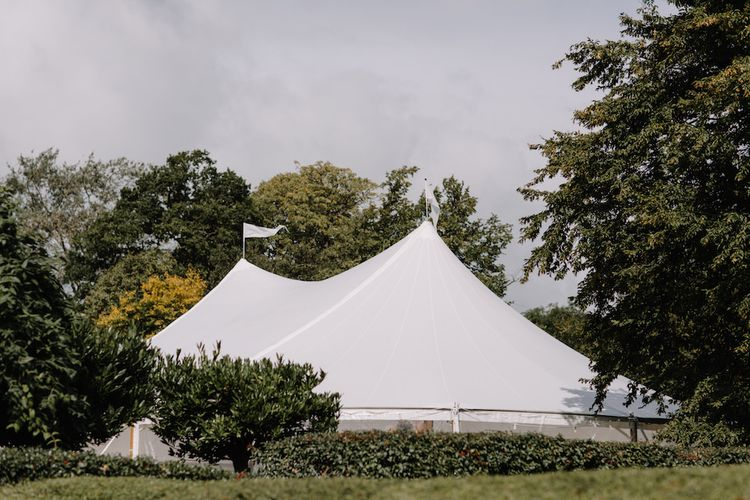 Rural Wedding in a Sailcloth Tent on Stanford Hall Estate, Northamptonshire | Rebecca Goddard Photography