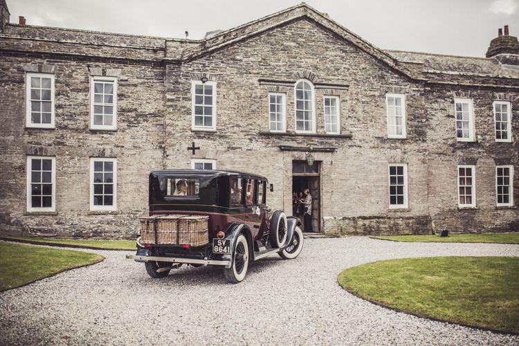 Vintage Car For Wedding Day