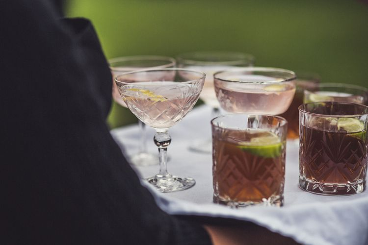 Signature Cocktails For Wedding Day