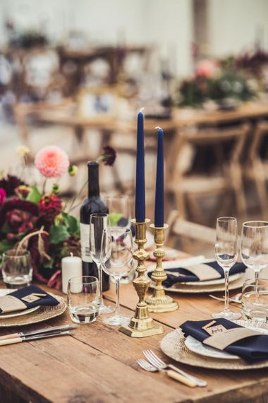 Sumptuous Autumnal Wedding Decor