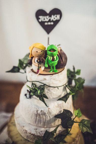 Kermit Cake Topper For Wedding Cake