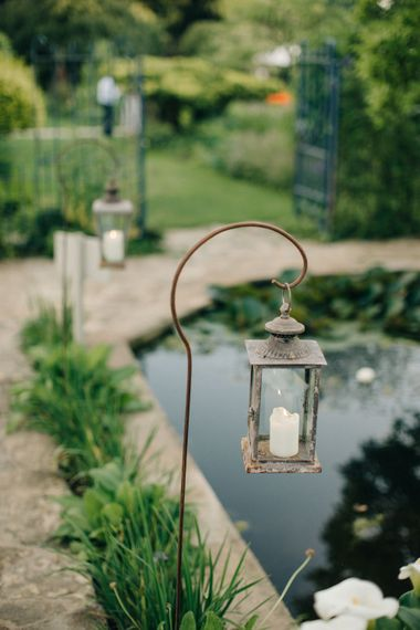 Outdoor Pastel Country Garden Wedding at Barnsley House in Cirencester | M and J Photography | Motion Farm Wedding Films