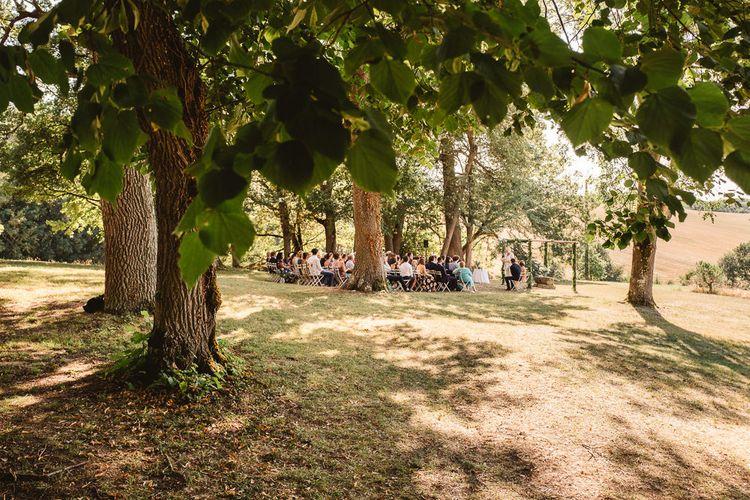 Idylic outdoor french wedding. Photography by Derek Smietana