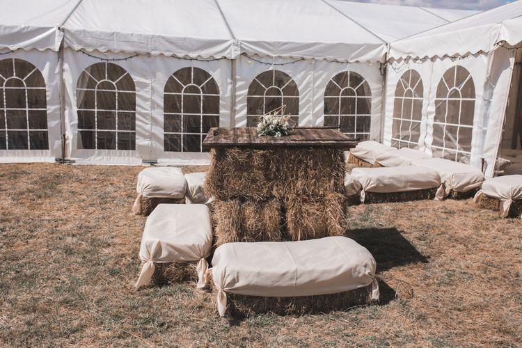 Outdoor Games Wedding Reception