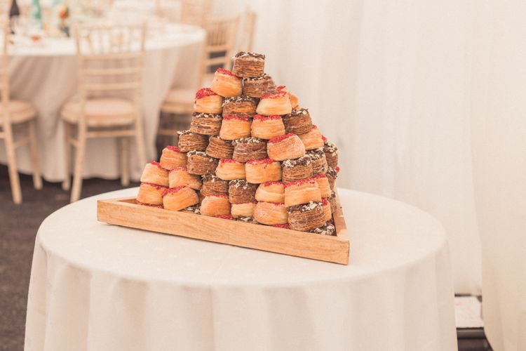 Cronut Wedding Cake