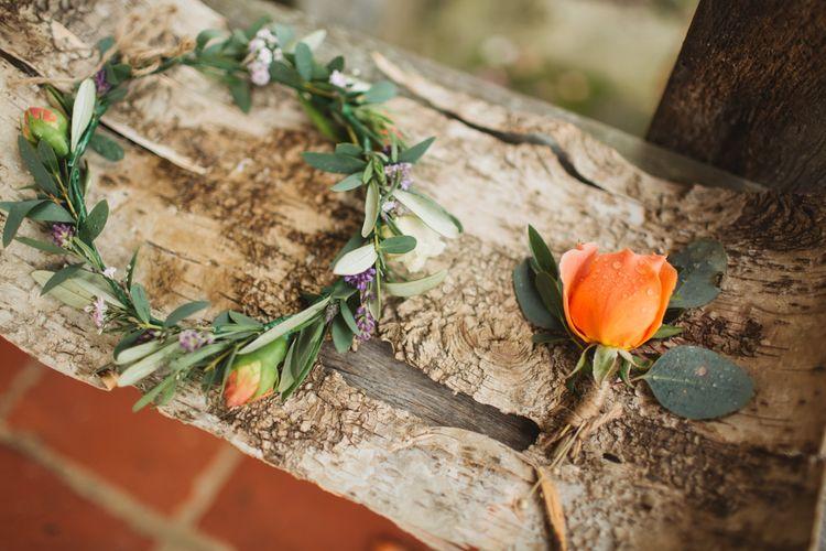 Flowers Crown & Bottonhole
