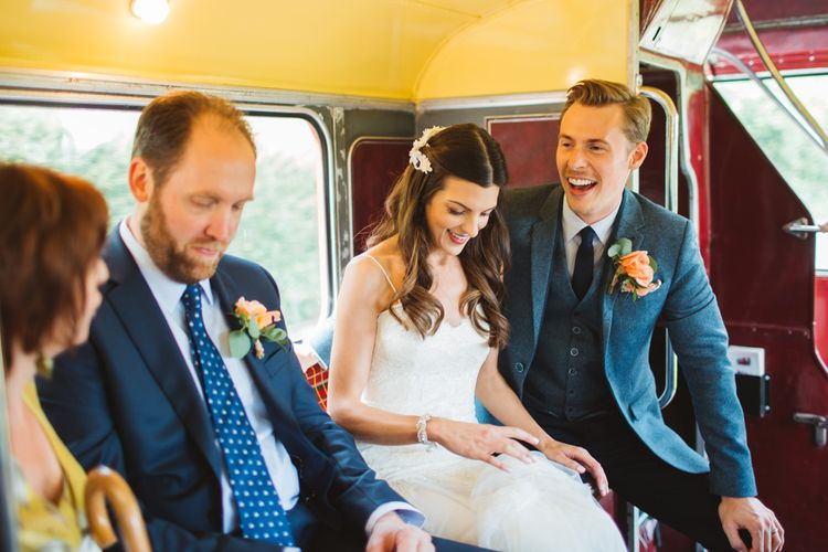 Bride & Groom Routemaster Bus