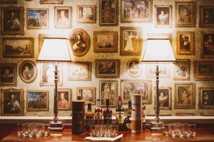 Whisky Bar At Wedding
