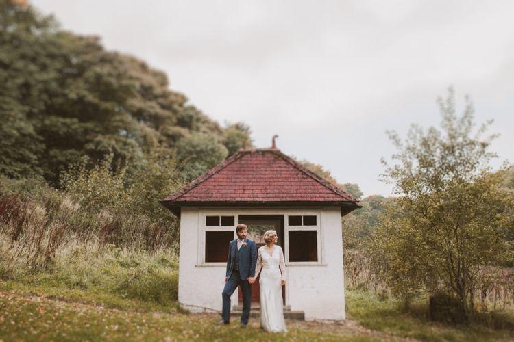 Bride & Groom Hargate Hall Wedding