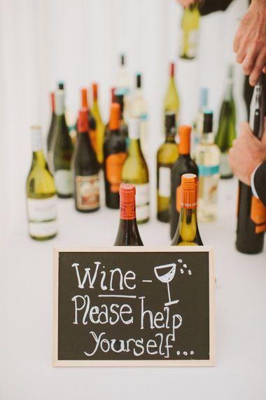 Wedding Reception Wine Bar