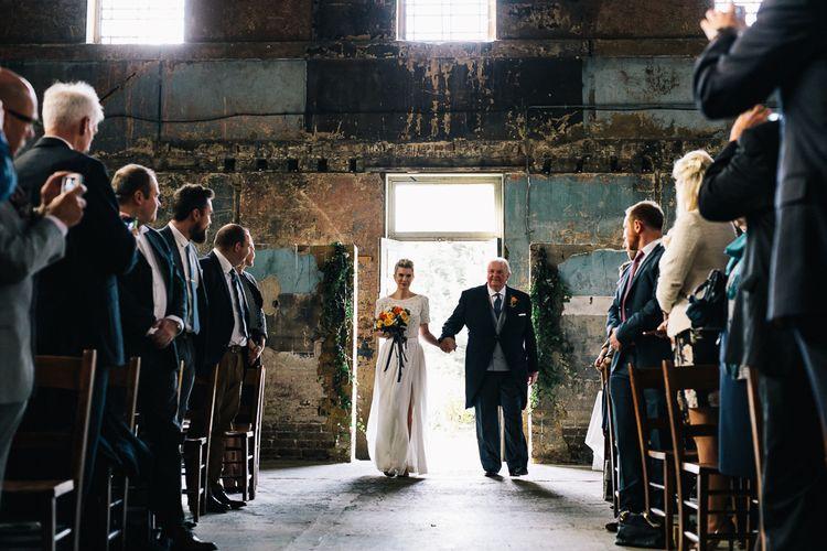 Winter Wedding At Asylum Chapel