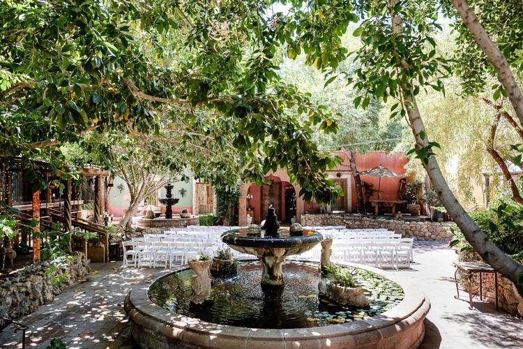 Outdoor Wedding Ceremony at Boojum Tree in Phoenix, Arizona | Lee Meek Photography