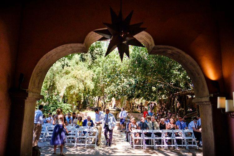 Outdoor Ceremony at Boojum Tree in Phoenix, Arizona | Lee Meek Photography