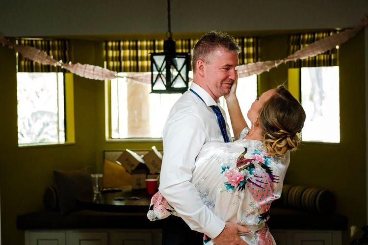 Bridal Preparations | Outdoor Wedding Ceremony at Boojum Tree in Phoenix, Arizona | Lee Meek Photography