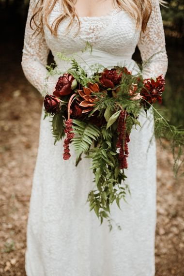 Beautiful Bridal Florals | Farmhouse at Redcoats | Green Antlers Photography