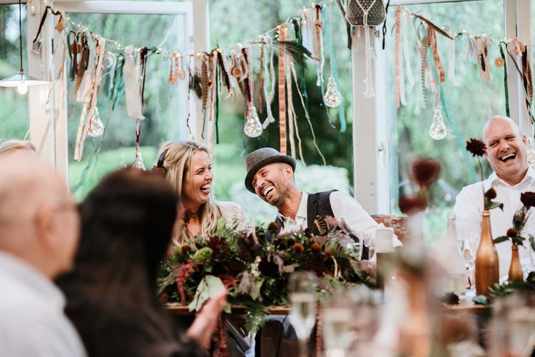 Wedding Magician Entertainment | Farmhouse at Redcoats | Green Antlers Photography