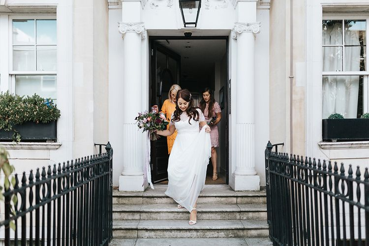 Bride In Catherine Deane