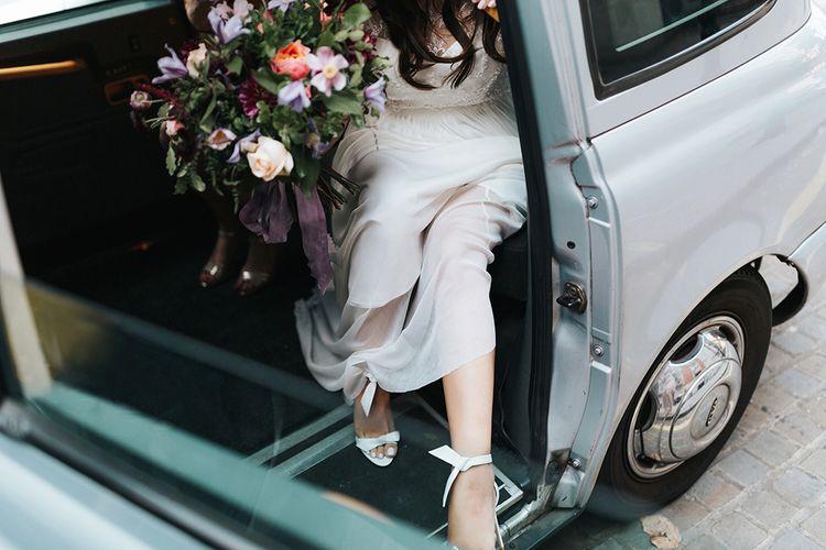 Beautiful Bride In Catherine Deane