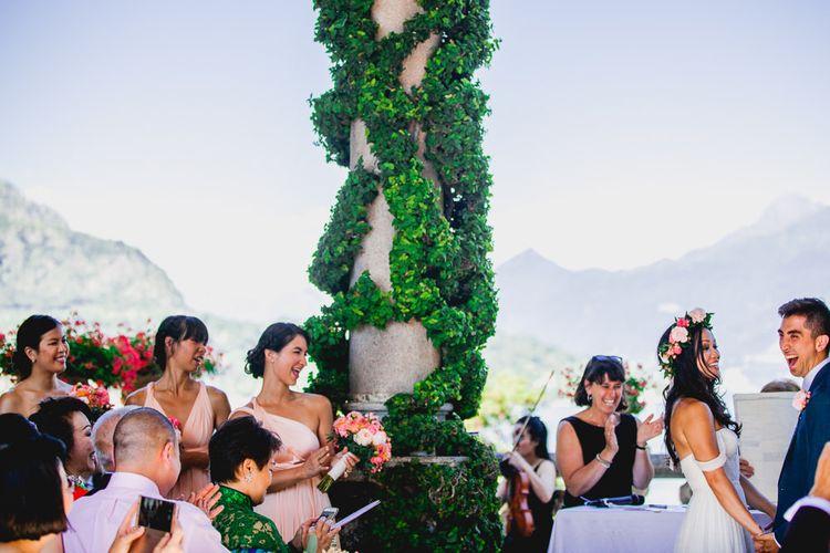 Outdoor Ceremony at Villa del Balbianello