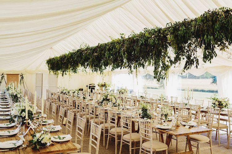 Elegant Marquee Wedding In Essex