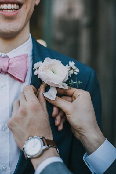 Buttonhole For Groom | Images By Matt Horan Photography
