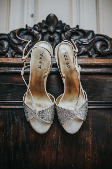 Nine West Silver Shoes