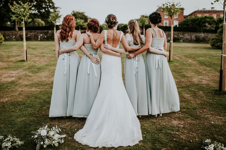 Bride & Bridesmaids Portrait