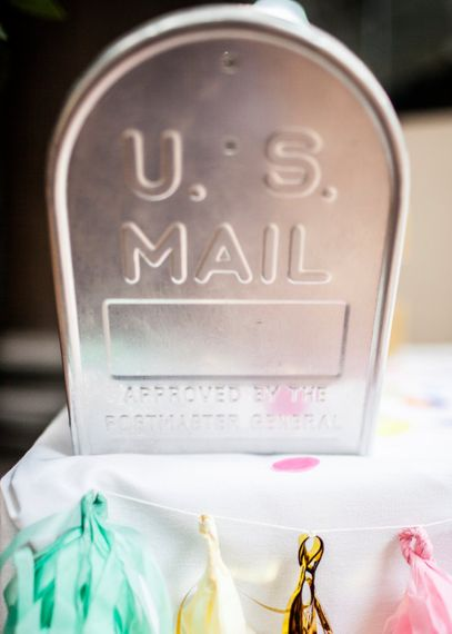 Wedding US Mail Box For Cards