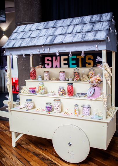 Sweetie Cart For Wedding Day