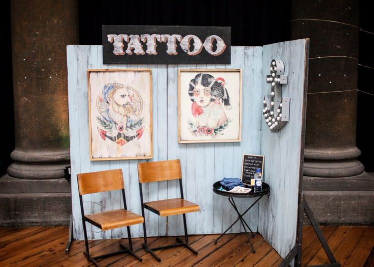 Tattoo Bar At Wedding