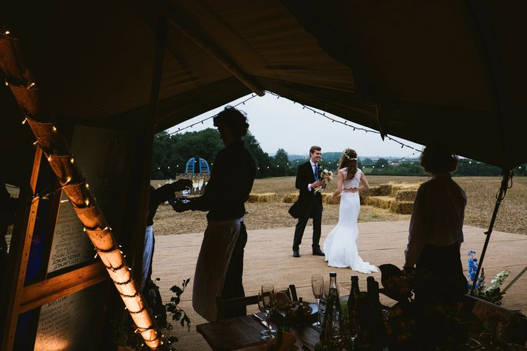Tipi Wedding In Norfolk