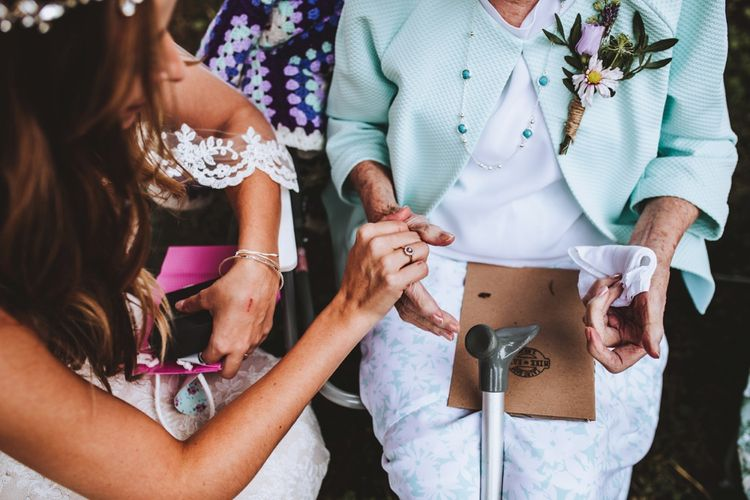 Family Moments on Wedding Day