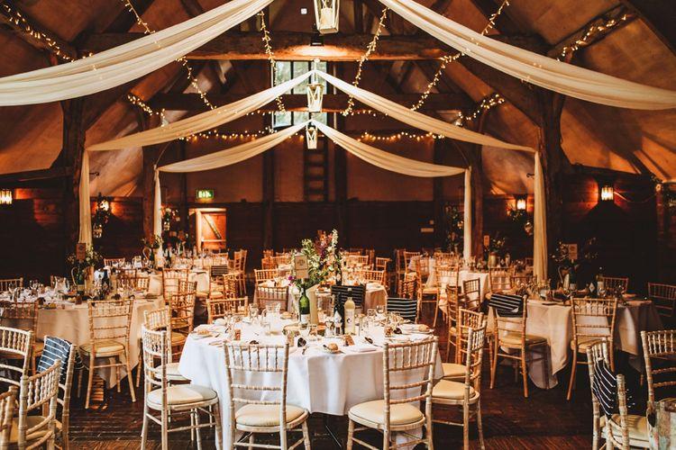 Rustic Wedding Decor at Lains Barn