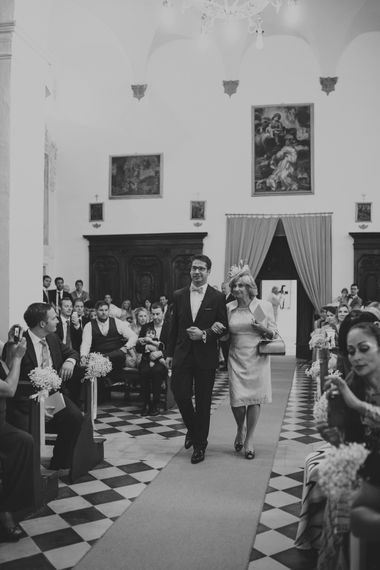 Wedding Party Entrance
