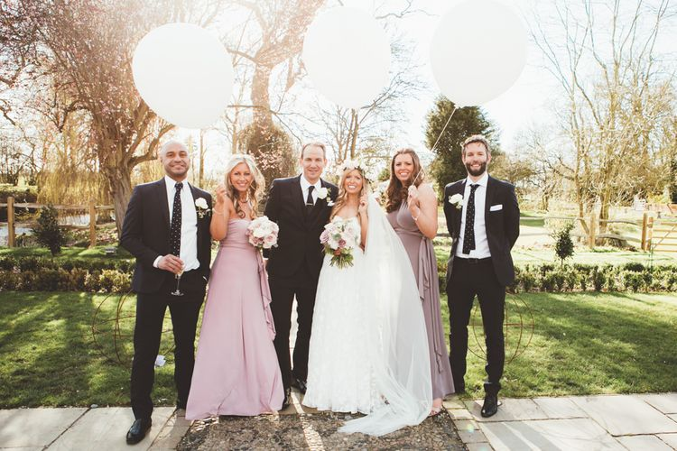 Wedding Party | Bridesmaids in Coast Dresses | Maryanne Weddings Photography