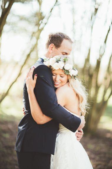 Couple Portrait | Bride in Kate Halfpenny London Eseme Bridal Gown | Maryanne Weddings Photography