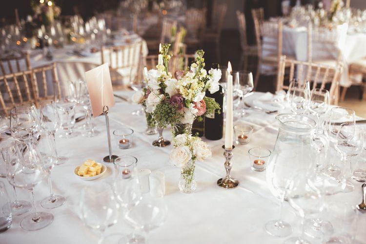 Wedding Flowers in Jars | Maryanne Weddings Photography