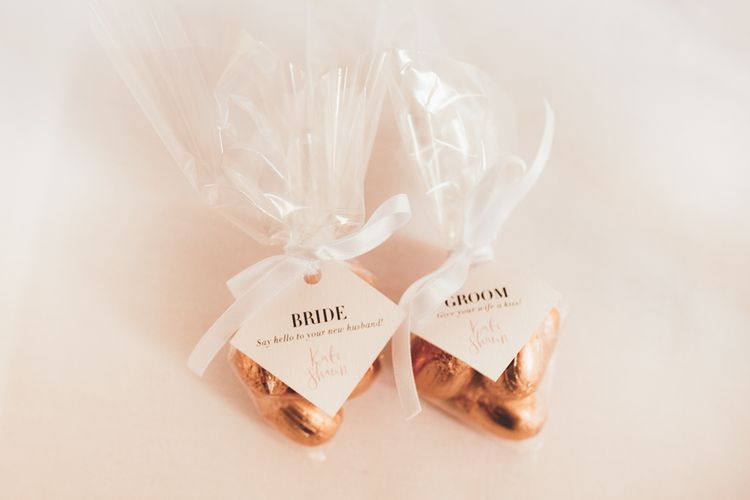 Chocolate Wedding Favours | Maryanne Weddings Photography