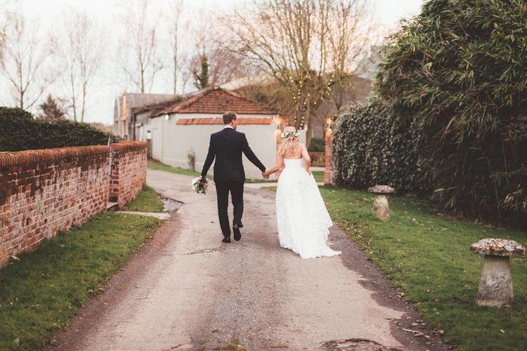 Bride in Kate Halfpenny London Eseme Bridal Gown | Maryanne Weddings Photography