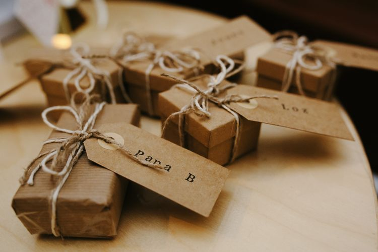 Brown Paper Packages Ties Up With String