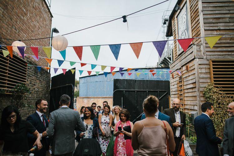 Colourful Wedding Bunting
