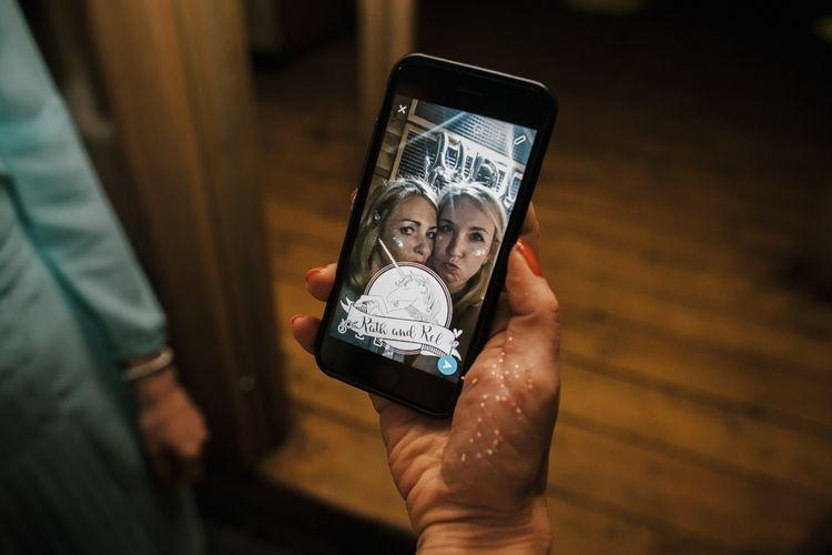 Personalised Social Media Wedding Day Filter