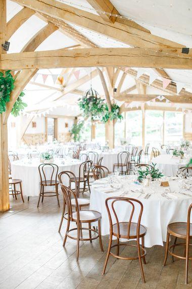 Barn Ceremony | Romantic Pastel Wedding at Cripps Barn | White Stag Wedding Photography | Dan Hodge Wedding Films
