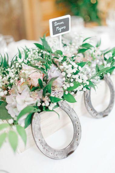 Flower Filled Crate Wedding Decor | Romantic Pastel Wedding at Cripps Barn | White Stag Wedding Photography | Dan Hodge Wedding Films