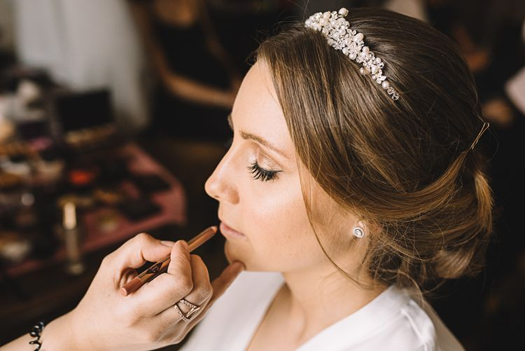 Bridal Makeup by | Lucie Watson Photography | TDH Media Films